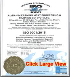 AL-RAHIM-FMPTC-ISO-certificate